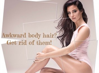Get rid of awkward body hair by laser hair removal treatment